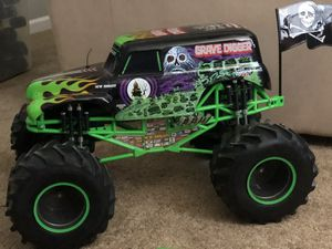 Photo Grave Digger R/C Truck