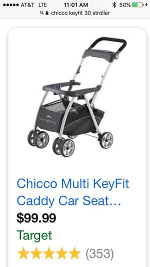 Chicco Car Seat Caddy Child Infant Car Seat Stroller for Sale in Midlothian, VA