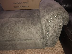 Trent Gray Chair & A Half Recliner with Nailhead Trim for Sale in Jacksonville, FL OfferUp