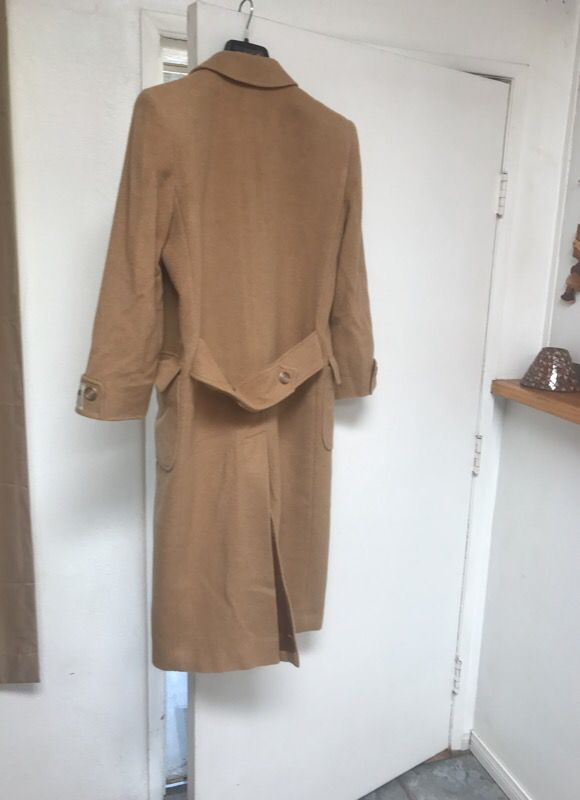 new specials united kingdom new cheap J. Percy for Marvin Richards 100% CAMEL HAIR trench coat for Sale ...