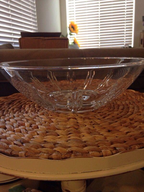 Lenox Crystal Bowl