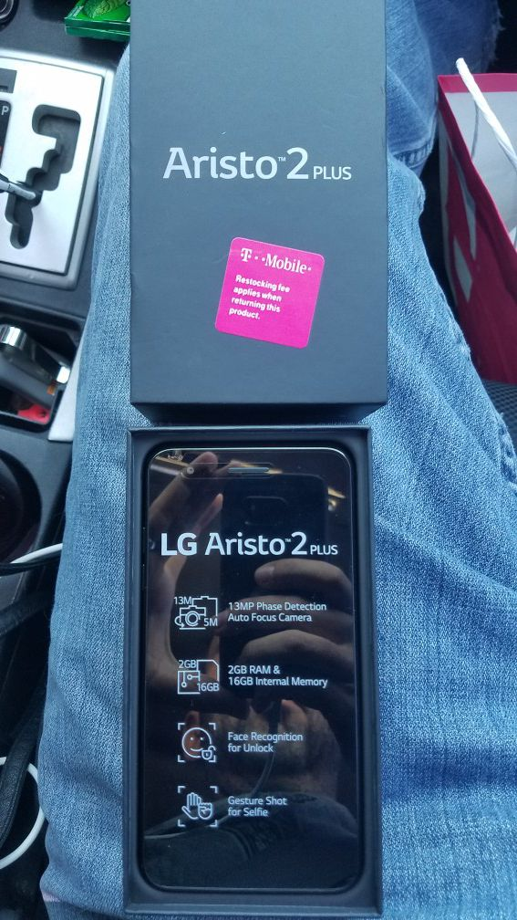 Tmobile LG Aristo 2 plus  New in box  Trade for tools for Sale in Palm  Desert, CA - OfferUp