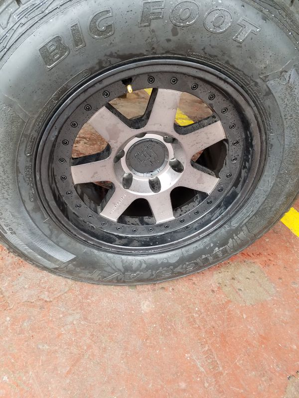 Used Tires Phoenix >> 17x9 Brand New Rims With Used Tires For Sale In Phoenix Az Offerup