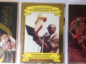 "GOLD Michael Jordan ""World Champions"" basketball card for Sale in Boston, MA"