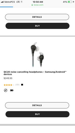 Bose Qc20 headphones for Sale in Chicago, IL