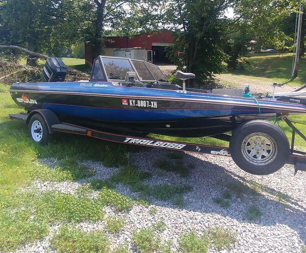 1990 cajun bass/ski boat
