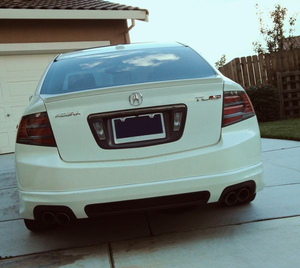CLEAN WHITE PAINT 07 ACURA TL 3.2L For Sale In Modesto, CA