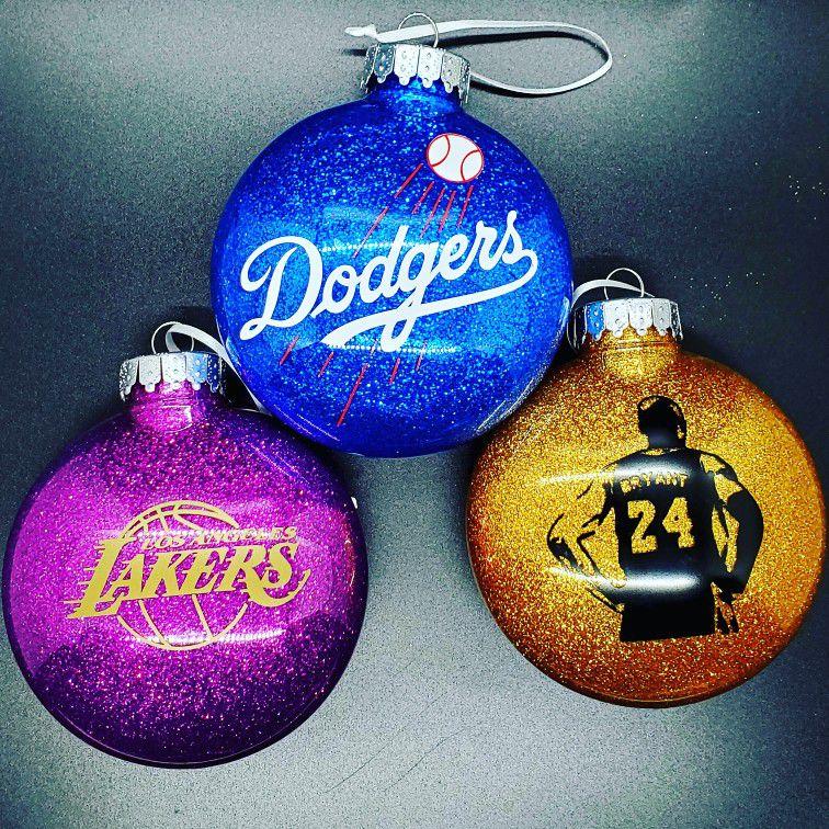 Dodgers Ornaments