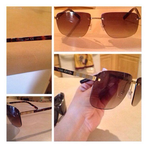 5dd4d7e0721ff Louis Vuitton sunglasses model Z0523U Attraction Rimless for Sale in Phoenix