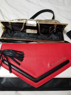 One valentino purse n one aldo gold. Thumbnail