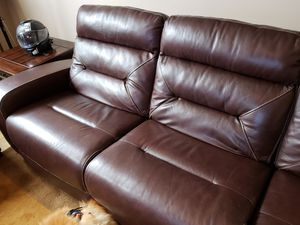 Leather sofa loveseat for Sale in Chicago, IL