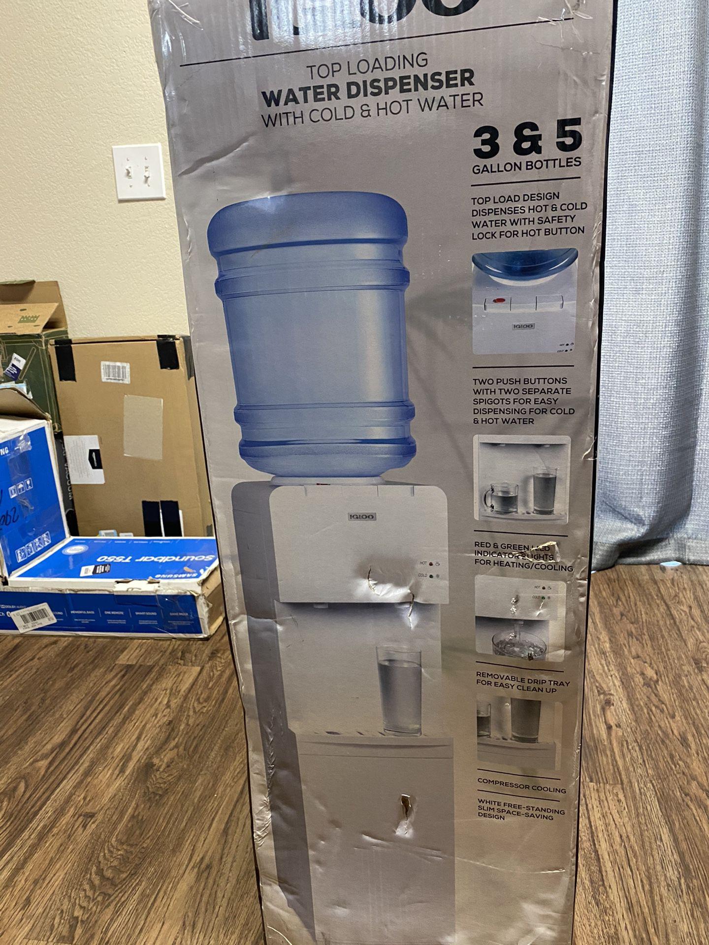 Igloo Water Top Load Water Dispenser ! New !