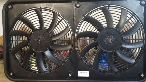 Summit Racing High Output Electric Fans Sum G4850