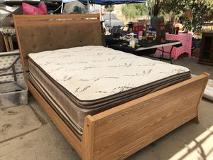 new and used bed frames for sale in menifee ca offerup