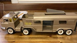 Photo Antique Horse Trailer Truck