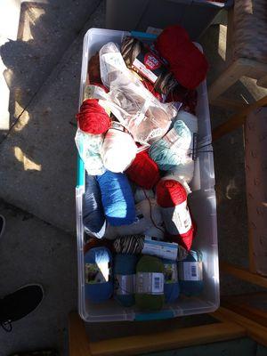 Yarns lots and lots of yarn for Sale in Leesburg, FL