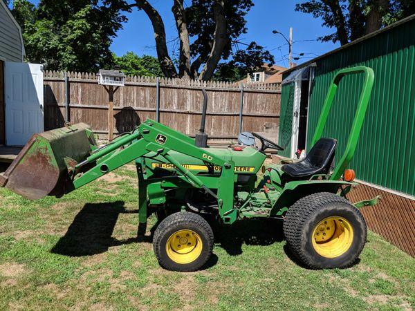 John Deere 650 >> John Deere 650 Sub Compact Tractor 4wd For Sale In Swansea Ma Offerup