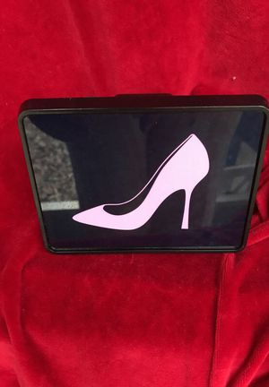 High-Heel-Pump_Pink-Black.Png Rectangular Hitch Co - Trailer Hitch Cover, Truck Receiver Hitch Plug Insert for Sale in DeBary, FL