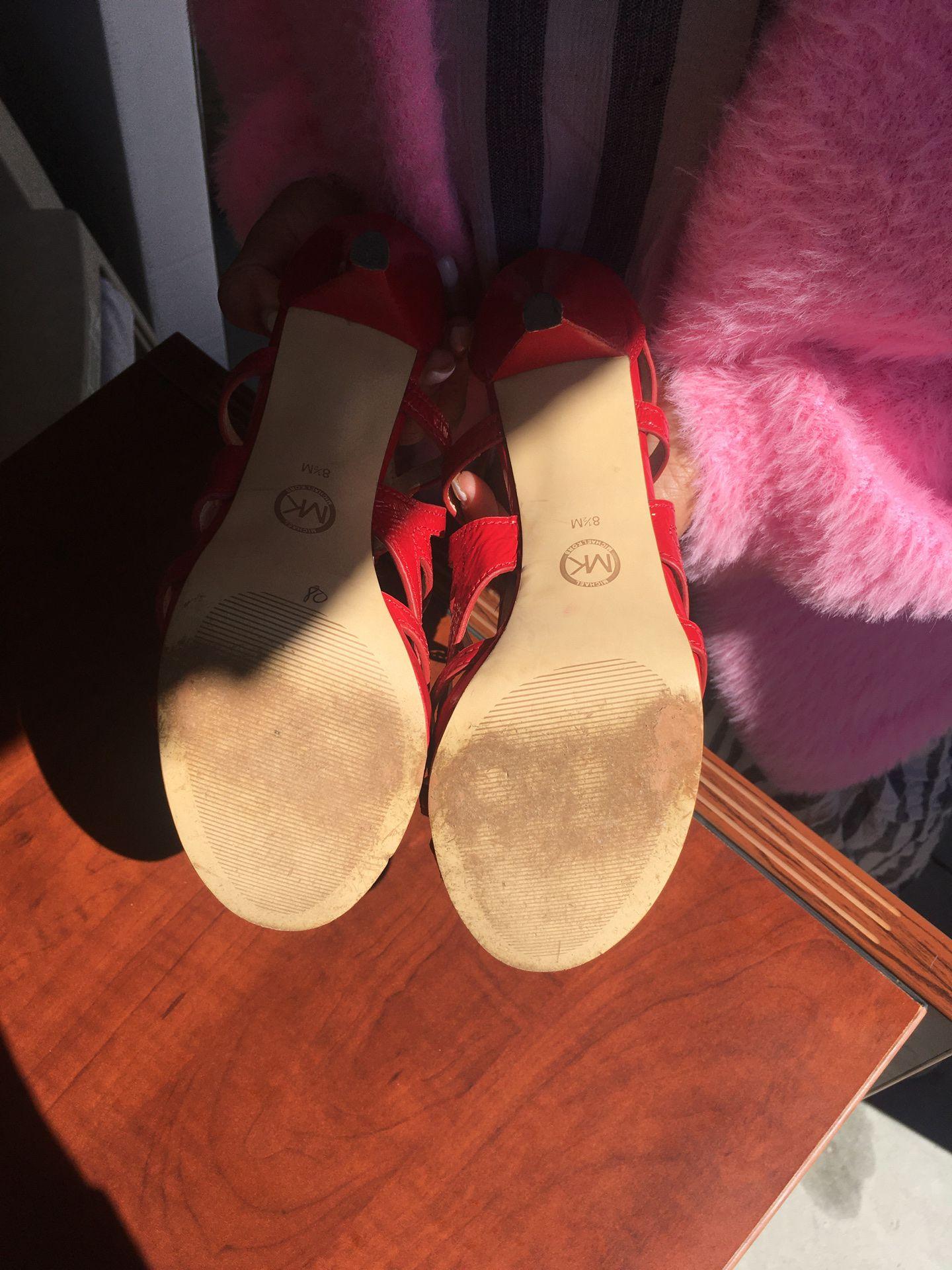 Michael Kors women's heels (8.5)