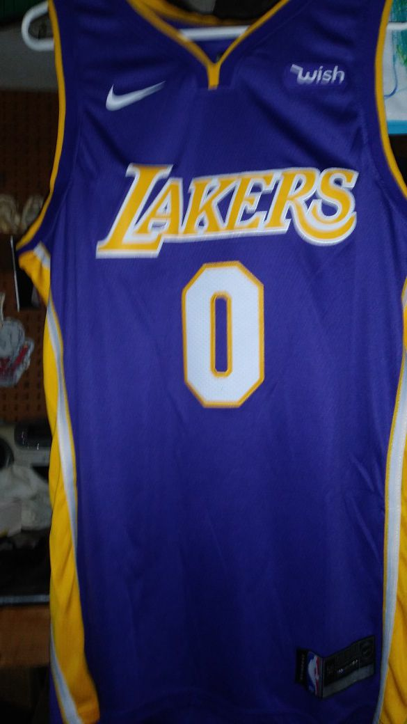 f6a8fd4ad81d Kuzma Lakers jersey size 50 L for Sale in Lynwood