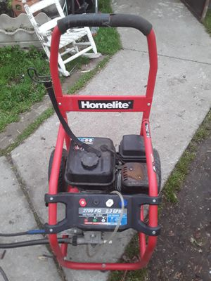 Photo Homelite pressure washer