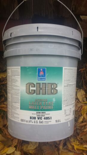 Sherwin Williams Chb Interior Latex Flat Paint For Sale In