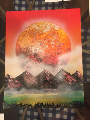 Spray paint art for Sale in Casselberry, FL