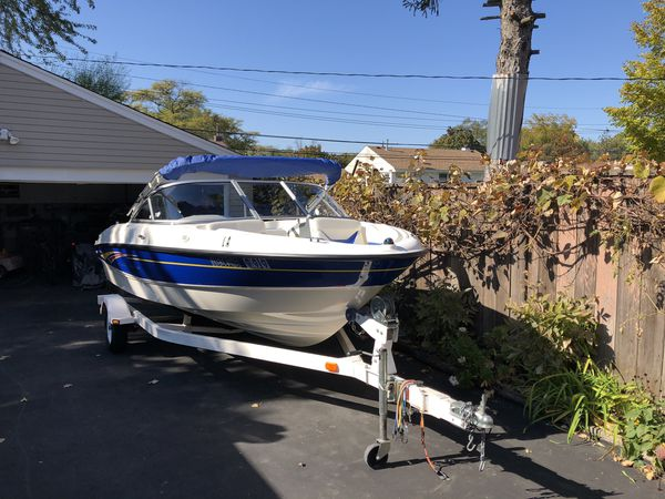 2007 bayliner 185 be one owner mint 28 hours on boat