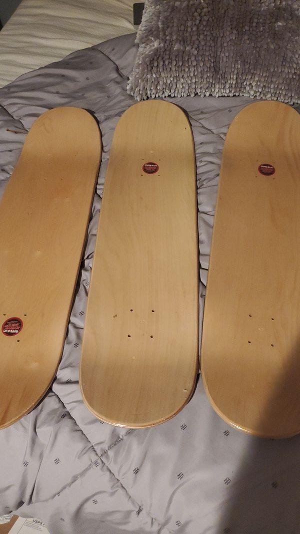 New wooden skateboard decks $15 each for Sale in Orange, CA - OfferUp