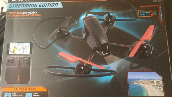 Sharper Image Mach 10 Inch Streaming Drone For Sale In Bakersfield