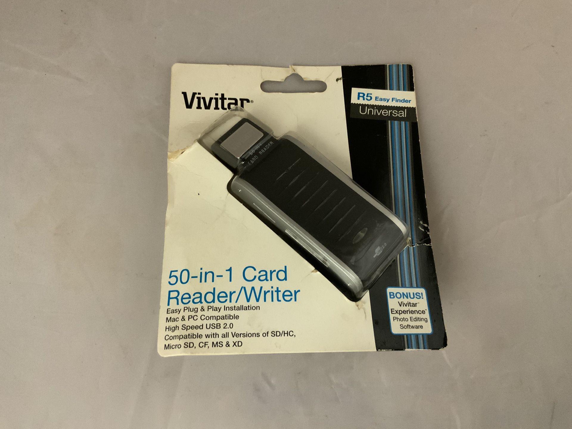 New 'vivitar' card reader