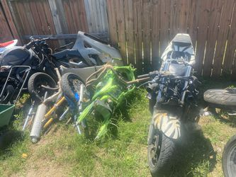 Project  Or Parts Bikes ( Will Sell All Together  Thumbnail