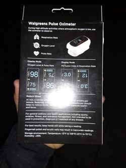 Pulse Oximeter With Respiratory Rate Thumbnail