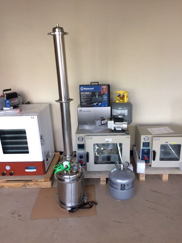 Closed loop extractor and vacuum oven kit for Sale in Phoenix, AZ - OfferUp