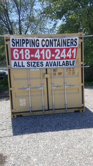 New-used Conex Shipping Storage Container for Sale in St. Louis, MO