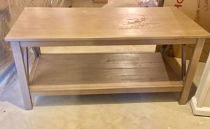 Grey-Brown Coffee Table for Sale in Boyds, MD