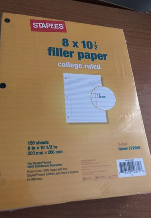 Lined paper for Sale in Boston, MA