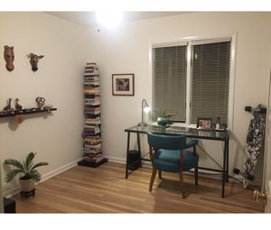 West Elm Spine Bookcase bookshelf in black oak for Sale in Annandale, VA