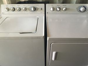 Ge Washer Dryer Matchine Set Delivery Install Old Removal Avail But Extra For