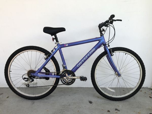 cd4d90891fe Cannondale M500 Vintage Women's Mountain Bike for Sale in Hollywood, FL -  OfferUp