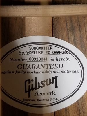 Gibson Ovangkol for Sale in Redmond, WA