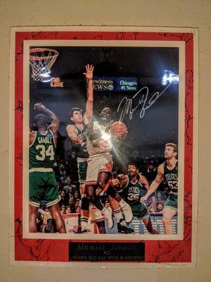 Michael Jordan Framed Autograph for Sale in Austin, TX