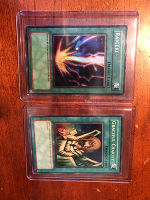 Yugioh Cards Raigeki & Graceful Charity for Sale in Herndon, VA