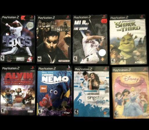 Movies/games/CDs