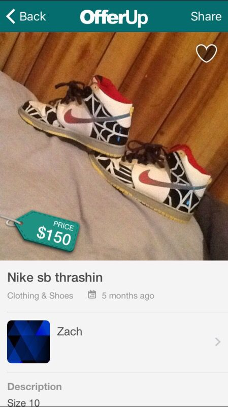innovative design 909dc 6925f Nike sb thrashin for Sale in Huntington Park, CA - OfferUp