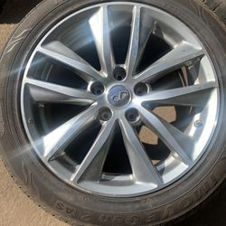 Infiniti Rims 17inch/ Brand New Tires  Thumbnail