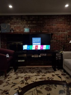 43 inch LG TV with the remote and a stand. for Sale in Centreville, VA