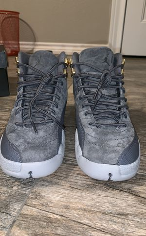 b348ad07aef jordan s grey suede 12 s for Sale in Port Acres