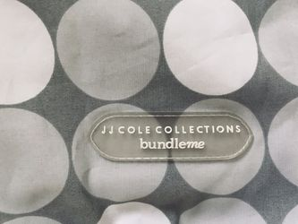 JJ Cole Collections Lite bundleMe gray lightweight carseat or stroller Thumbnail