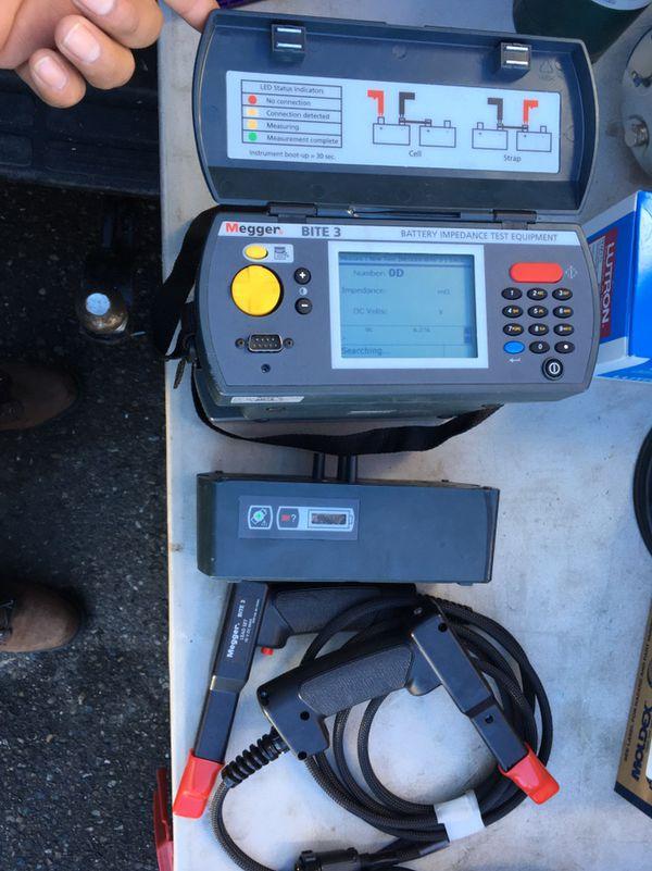 Megger BITE3 Battery Impedance Test Equipmen for Sale in Modesto, CA ...